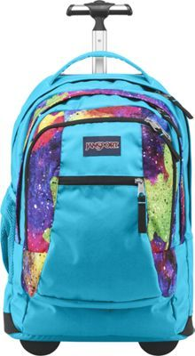 Jansport Driver 8 Rolling Backpack Multi Neon Galaxy Via Ebags Back To