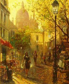 MANFRED RAPP----Montmartre
