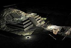 TUNEL DE TEOTIHUACAN  Mexico   Art Destinations  Ciudades y regiones como destinos recomendados para descubrir arte contemporáneo, sitios arqueológicos, patrimonio cultural y naturaleza.