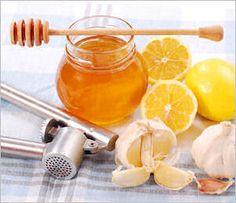 10 Cough Remedies & Treatments:  Homemade Honey & Lemon Syrup, Garlic Syrup, Thyme or Basil Tea, Horehound Medicine, Simmered Onions & Honey, Ginger, Aloe Vera, Apple Cider Vinegar & Honey, Rose Hip Tea, Garlic Plaster