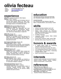 a lot of info a nice way to try to fit it onto one page - Should My Resume Be One Page