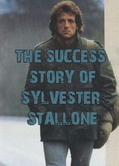 An Inspirational success story of Sylvester Stallone, how he started his journey with Rocky film and became one of the Greatest Movie Star Silvestre Stallone, Sylvester Stallone Quotes, Rocky Film, Sly Stone, Movie Couples, Rocky Balboa, Ali Larter, The Expendables, Marlon Brando