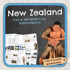 Lets get to know  New Zealand! This worksheet includes 14 pages with a great variety of activities and exercises about New Zealand. The materials have informative exercises about the things that New Zealand is famous for, such as the All Blacks, the Maori, the Haka, Milford Sound and many other things!