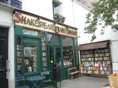 The longest standing English bookstore in Paris - Shakespeare & Company