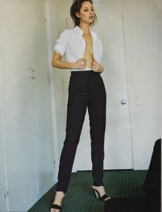 Christy Turlington for Harper's Bazaar photographed by Mario... | Fashion Gone rouge | Bloglovin'