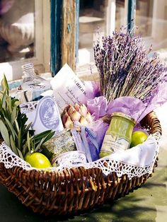 Basket of goodies (The Little Corner)