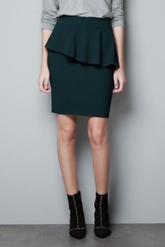 Pencil Skirts For Fall 2012 - How To Style A Work Skirt