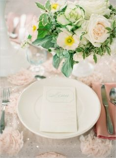 Table Decor Tip: Photo by Lauren Kinsey Fine Art Wedding Photography on Wedding Chicks #place #setting #wedding #decor #details #ideas
