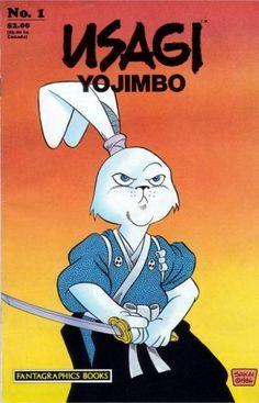 . Comic Book Characters, Comic Books Art, Comic Art, Book Art, Akira, Usagi Yojimbo, Cultura Pop, Comic Covers, Book Covers