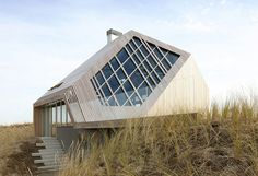 Голландия. Архитектор Марк Келлер. Частный жилой дом Dune Рouse.  #architecture #dunepouse #марккеллер