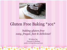 Ginger Lemon Girl: Revised Gluten Free, Casein Free Master Baking Mix Recipe