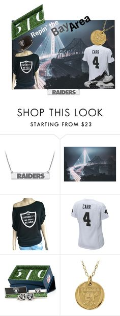 """""""CaliRaiders"""" by calihotgirl1 ❤ liked on Polyvore featuring NIKE, Cufflinks, Inc. and New Era"""