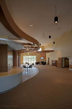 Grace Fellowship: Worship, Kitchen, Offices, Youth Space | Aspen Group | Building For Ministry