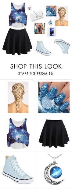 """""""Untitled #23"""" by autumn-geist on Polyvore featuring WithChic and Converse"""
