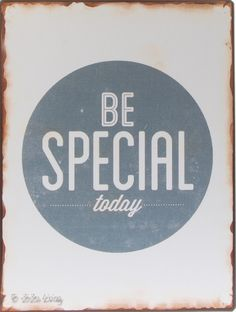 La Finesse Metalen tekstbord - Be Special - - ZiZo Living