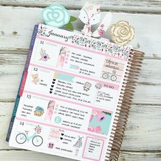Distinctive Gifts Mean Long Lasting Recollections Getting The Hang Of A New Layout In My Erincondren Horizontal Planner Planner Stickers, Planner Pages, Printable Planner, Planner Ideas, Printables, Planer Organisation, School Organization, Digital Bullet Journal, Planer Layout