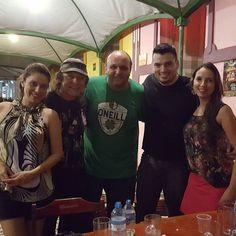 """Noite divertida com @armandinhomacedo e amigos aqui em Fortaleza!  Amanhã tem o show """"Guitarra Baiana"""" no Cineteatro São Luís às 18h. Não percam!"""