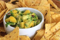 Mango and Avocado Salsa is just what your Cinco de Mayo fiesta needs!