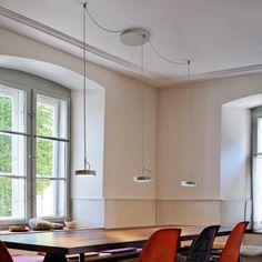 belux u-turn LED Pendelleuchte - Led Treiber, U Turn, Ceiling Lights, Lighting, Table, Room, Furniture, Home Decor, Gymnastics
