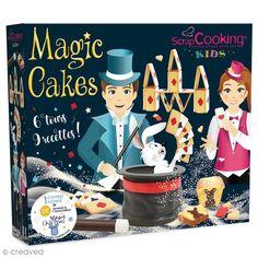 Coffret Magic cakes ScrapCooking