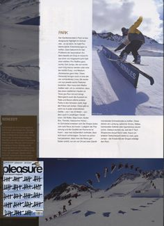 Pleasure - German Austrian Magazine - Ethan Morgan - Snowboard Team - March12