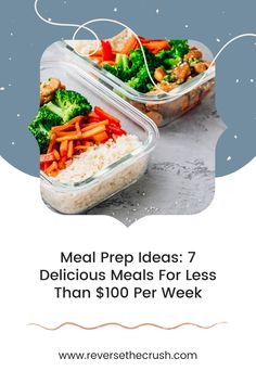 Looking for meal prep recipes to save money? Check out these 7 tasty meal ideas to start saving money this week. Make Money From Home, Way To Make Money, Chicken Caesar Salad, Tasty, Yummy Food, Save Money On Groceries, Finance Tips, Money Tips, Meal Ideas