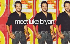 meet luke bryan. this one falls near the top of my list..
