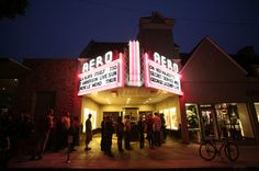 Enjoy movies from old Hollywood in Santa Monica at Aero Theater - open since 1940!
