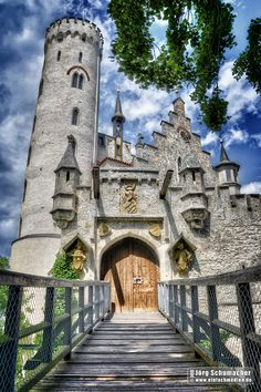 Lichtenstein Castle, Baden-Württemberg, Germany --want to go next time i'm in Germany