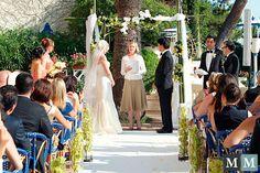 Anne Naylor performing wedding ceremony.  Photo Manuel Meszarovits