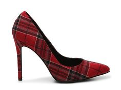 Penny Loves Kenny Opus Plaid Pump