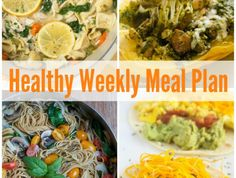 Enjoy tasty recipes everything single day of the week with this week's Healthy Weekly Meal Plan with Indian Curry Chicken Bowls, Sweet Potato Noddle and Egg Tacos and more!