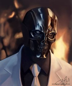 Black Mask by Von Catapusan