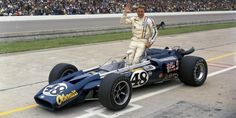 "1970 - Dan Gurney's (#48) ""Olsonite"" Gurney Eagle - Qualified: 11th, Speed 166.860 mph - Finished 3rd"
