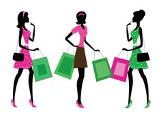 Hey, I found this really awesome Etsy listing at https://www.etsy.com/listing/150983701/silhouettes-of-a-women-shopping