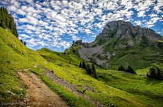 """To the Faulhorn"" by Ben Elliott on 500px - In the early stages of the Faulhornweg; a hiking trail running from Schynige Platte to Grindelwald via the Faulhorn."
