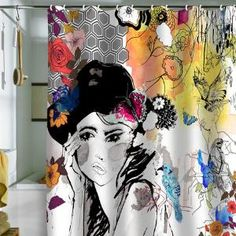 DENY Designs Home Accessories   Holly Sharpe Dreamer Shower Curtain