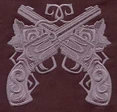 Baroque Punk Revolvers design (UT4131) from UrbanThreads.com