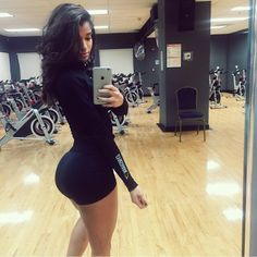 I'll probably never have a butt this big because my genes aren't set up like that  But her body is truly amazing!