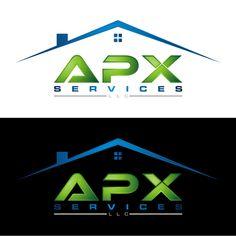 Apx Services LLC. - Logo design for APX SERVICES LLC.