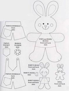 Easter Craft Ideas Bunny, Rabbit, Rabbits, Baby Bunnies
