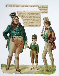 LARGE VICTORIAN EMBOSSED SCRAP DICKENS BLEAK HOUSE OLD MR TURVEYDROP PEEPY GUPPY Bleak House, Guppy, Scrap, Victorian, Children, Illustration, Fictional Characters, Google Search, Friends