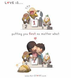 L'amour c'est quoi ? Réponse en 24 dessins d'Andrew Hou !