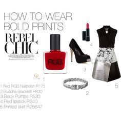 """""""How to wear bold prints"""" by carly-desantis on Polyvore"""