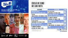 Cartelera Sala Lumiére, Ciclo de Cine: De Los 90´S. Del 5 al 10 de julio de 2016. Dos funciones: 16:00 y 18:30 horas. Cooperación: $10.00 #Culiacán, #Sinaloa