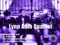Lynn Adib is a Syrian singer, born in Damascus. Introduced first to the Byzantine hymn tradition, she studied classical flute then discovered jazz at the age of 19 years old.  Musicians:   Lynn Adib - vocal Fady Farah – piano Yann-Lou Bertrand – double bass Augustin Bette - drums