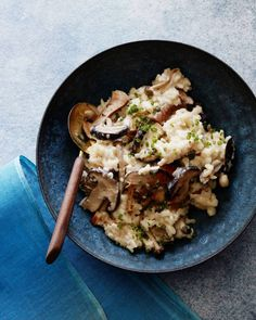 Wild Mushroom Risotto from www.whatsgabycooking.com (@whatsgabycookin)