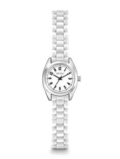Caravelle New York by Bulova Womens 43L176 Watch with White Rubber Band ** You can get more details by clicking on the image.