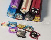 Polymer Fimo Clay Cane Assorted Animal Slices Kawaii Miniature Scrapbooking Decoration Nail Art (75 pcs) GM-1CG8