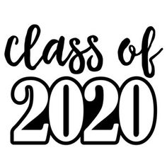 Silhouette Design Store: Class Of 2020 - Graduation pictures,high school Graduation,Graduation party ideas,Graduation balloons